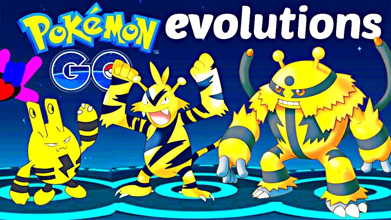 Pokemon Go Gen 2 Evolutions Elekid Evolution Evolving