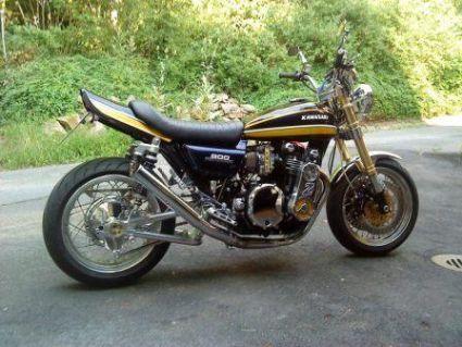 Umgebautes Motorrad Kawasaki Z 900 Von Osc Team