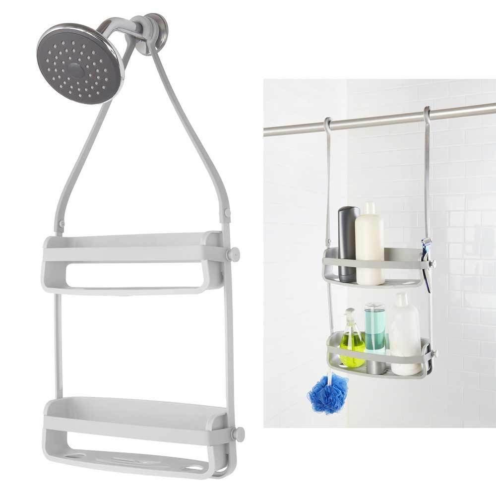 1 Umbra Shower Rack Caddy Plastic Bathroom Shampoo Soap Razor ...