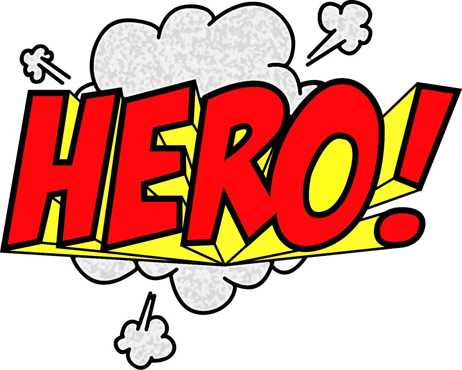 Best Superhero Words 12008 Clipartion