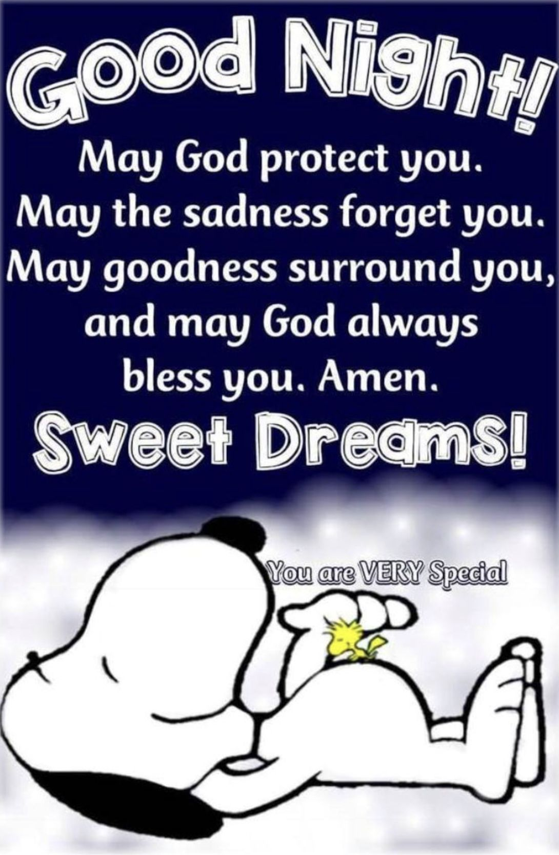Just In Case I Want To Say Good Night Already Hope You Will Sleep Like An Ange Ange Case Good Hope Good Night Quotes Snoopy Quotes Good Night Blessings