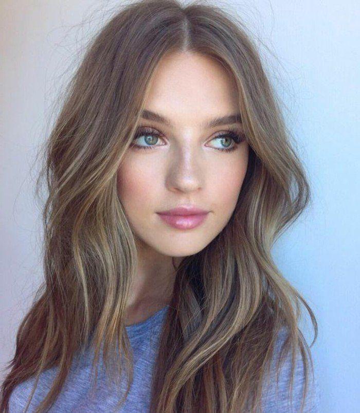 1001 idées pour coiffures avec couleur de cheveux marron