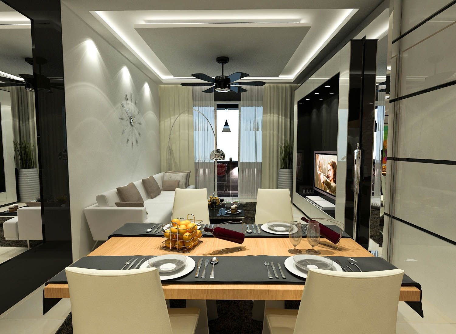 Serviced Apartment In Mutiara Anggerik By Dnito Studio Malaysia