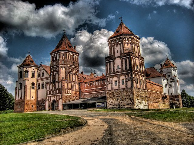 Mir Castle, Belarus #castle #belarus