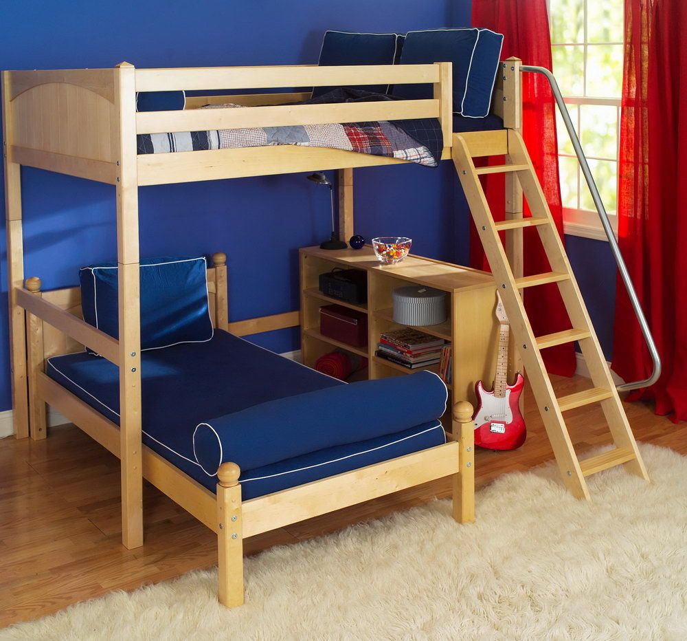 Queen loft bed with stairs  Twin Bunk Beds Ikea  Interior Paint Colors for  Check more at