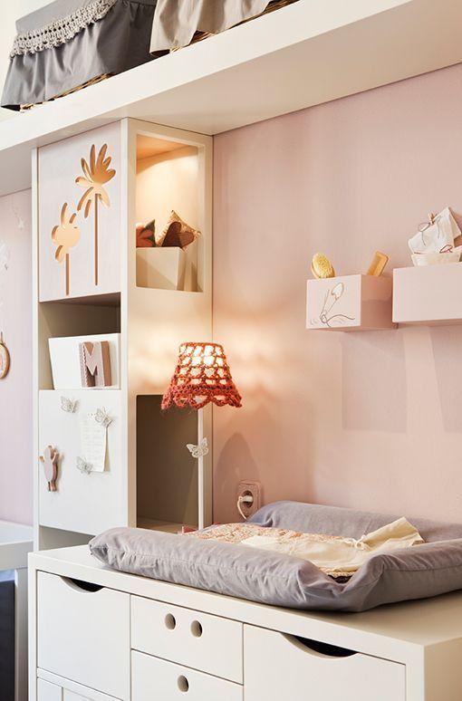 Decoración infantil: una habitación de bebé con muebles crecederos ...
