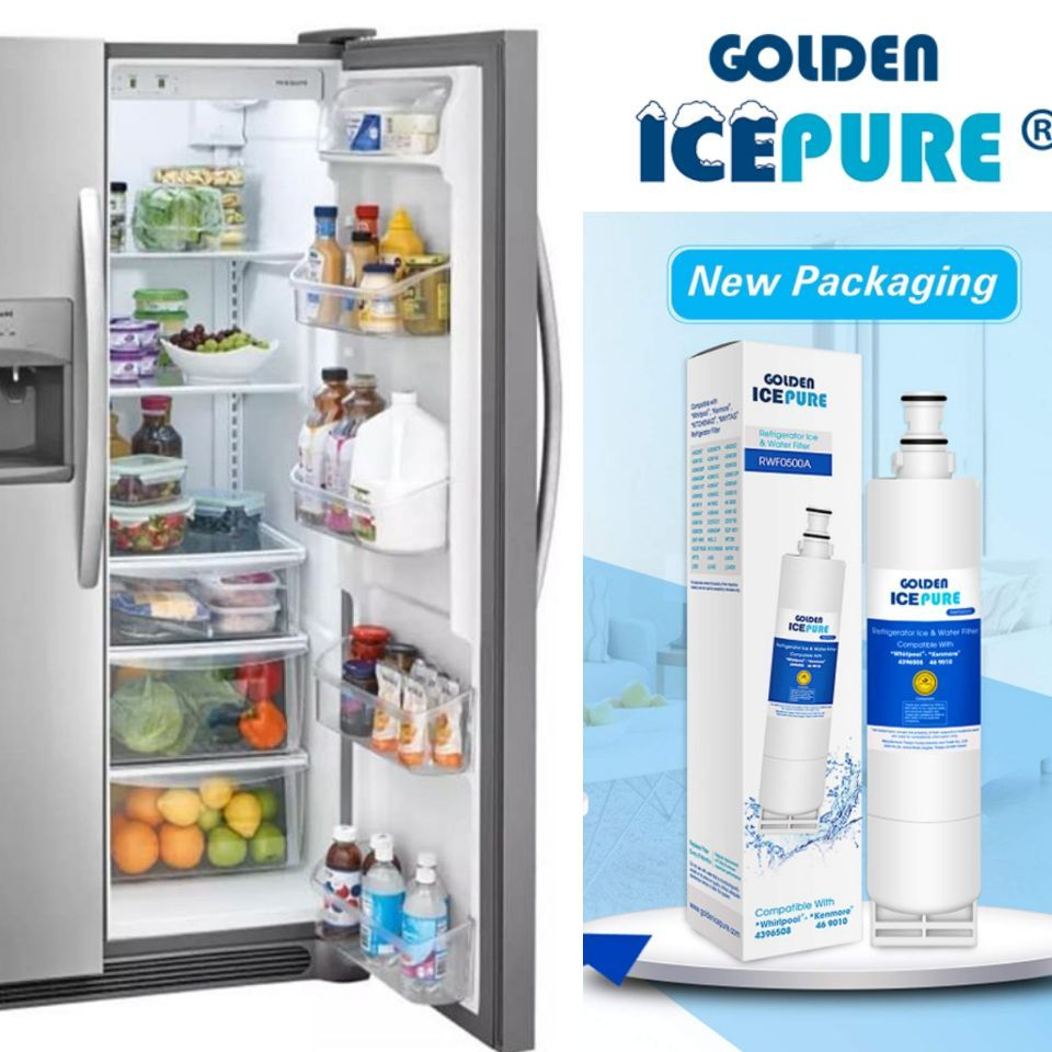 Golden Icepure Refrigerator Water Filter Compatible With