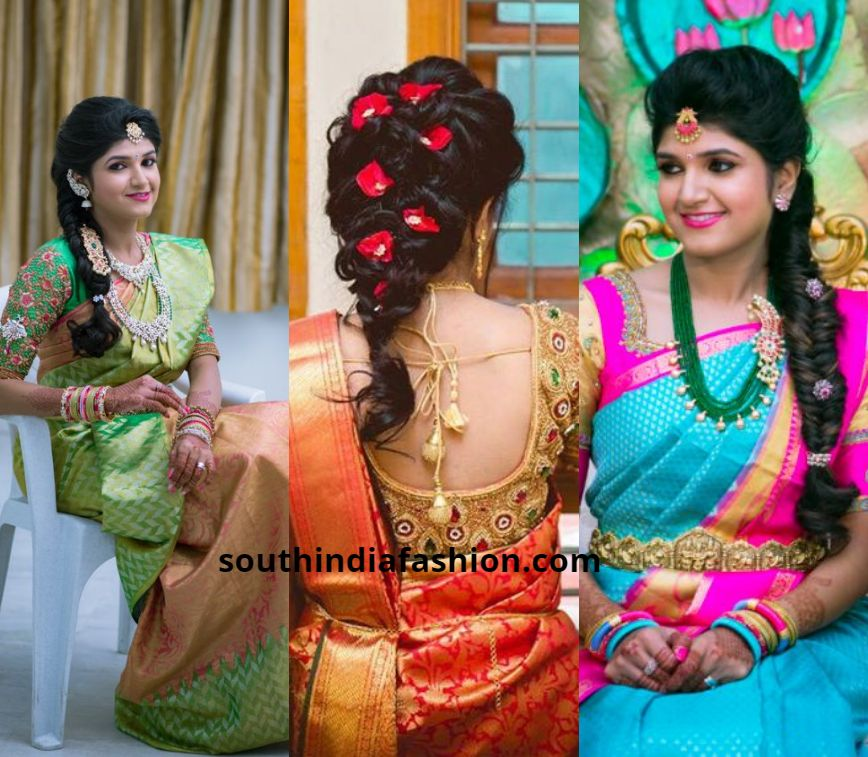 99 Fashionable Bridal Hairstyles Ideas For Long Short Hair To Inspire Bridal Hair Buns South Indian Wedding Hairstyles Wedding Hairstyles For Long Hair