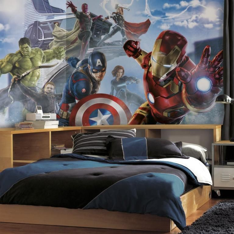 30+ Cool Superhero Theme Ideas For Boy's Bedroom