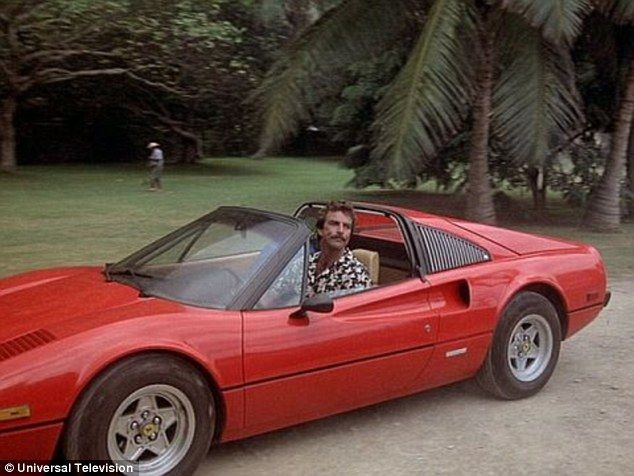 Ferrari 308 Driven By Tom Selleck In Magnum Pi Is For Sale At Auction Magnum Pi Ferrari Magnum Pi Ferrari
