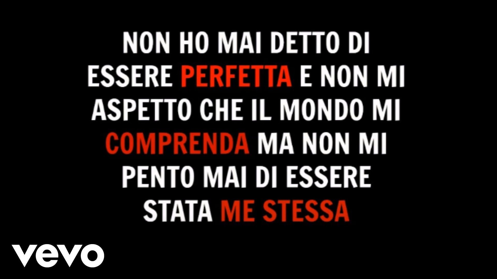 Alessandra Amoroso Il Mio Stato Di Felicita Testo Lyrics