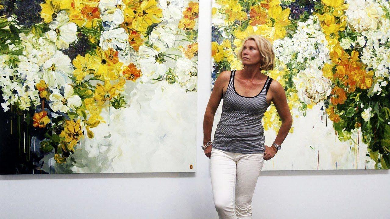 Праздник цветов от художницы Бобби Бергерс ( Bobbi