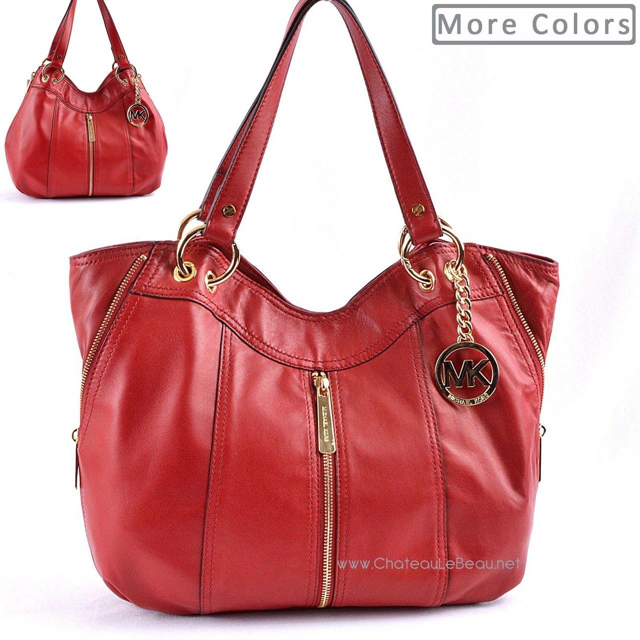 0ffd484c680e Chateau Le Beau - Michael Kors Moxley Medium Shoulder Tote Bag, $317.95  (http: