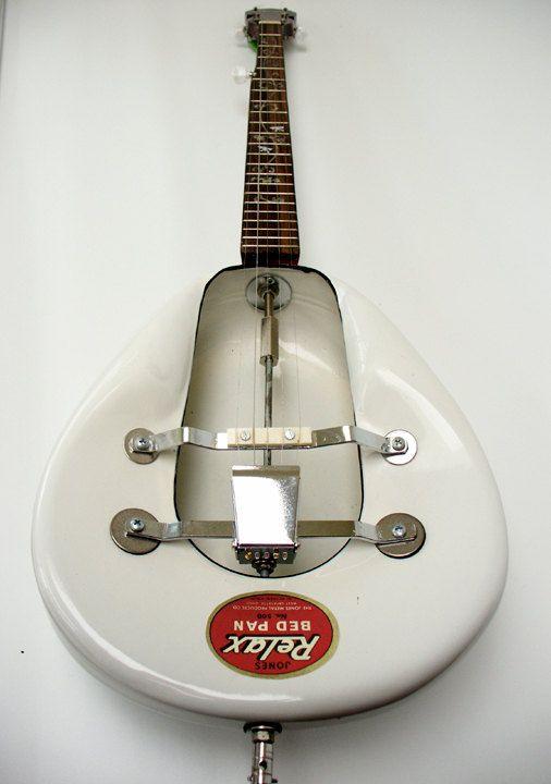 Handmade 5string Bed Pan Bluegrass Banjo by RainyDayInstruments, $485.00