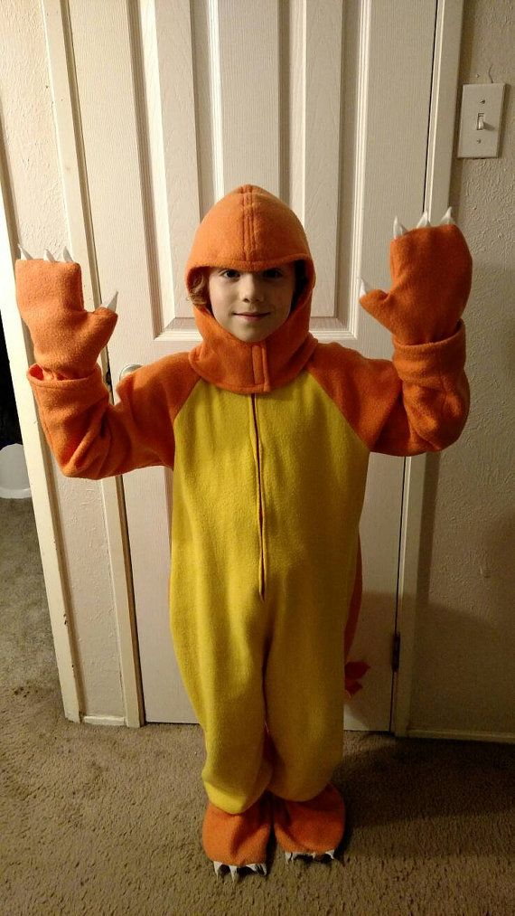 Pokemon charmander Halloween or dress up costume by GhillieRains ...