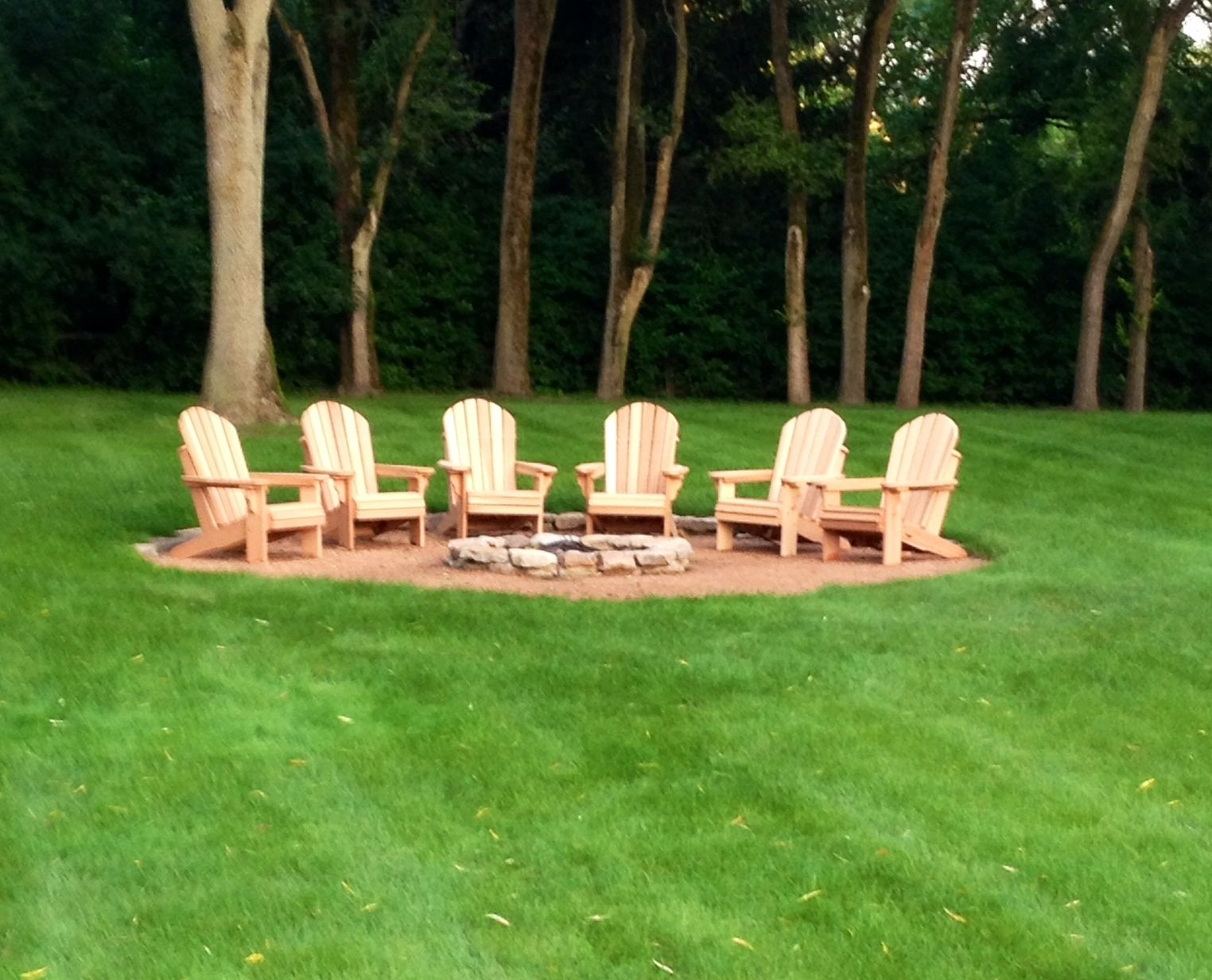 Oregon Patio Works Adirondack Chairs