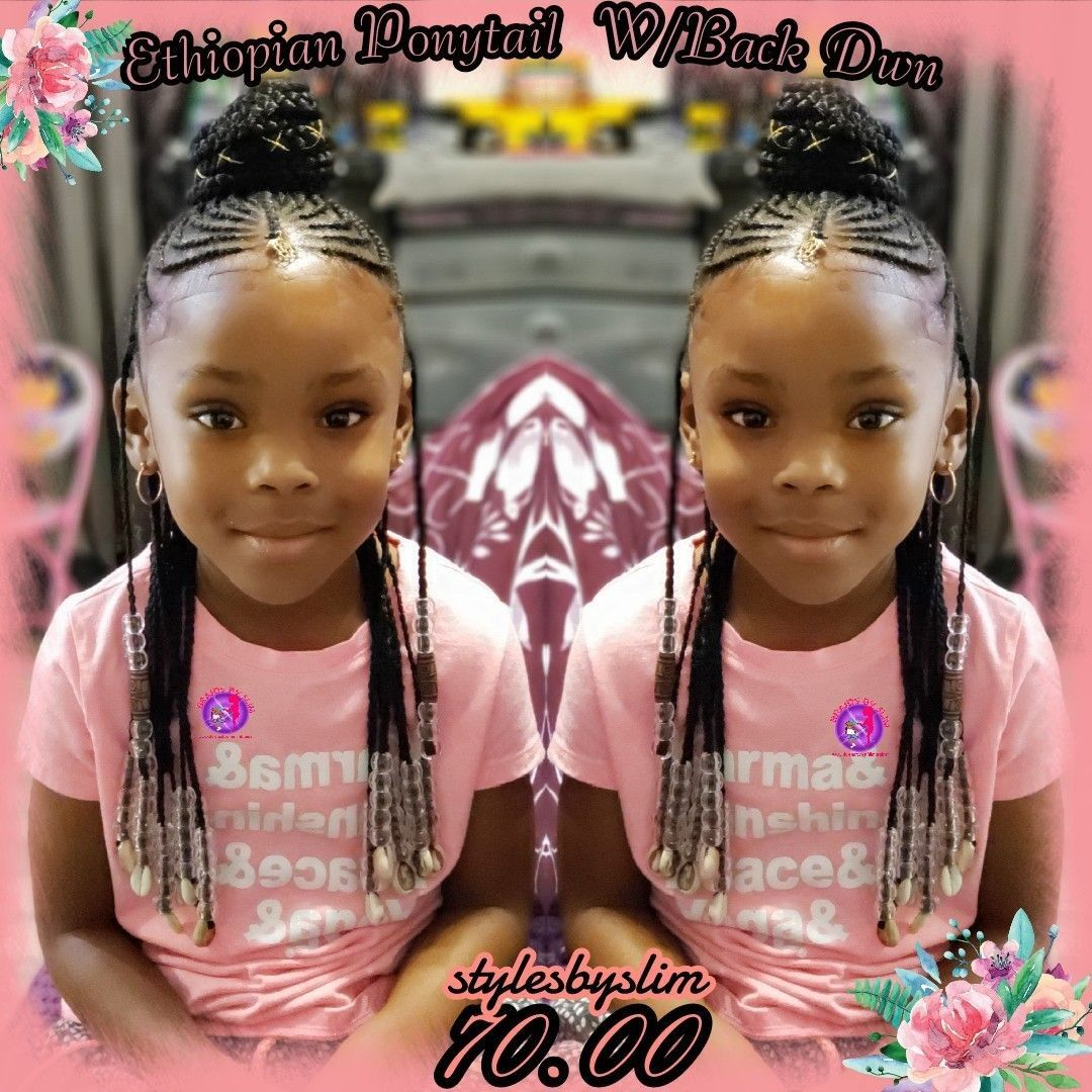Pin By C M On Natural Hair Little Girl Hairstyles Lil Girl