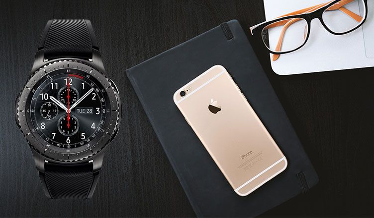 wholesale dealer 0ab54 564f3 Best Smartwatch for iPhone X, iPhone 8, 8 Plus, iPhone 7, 7 Plus, 6 ...