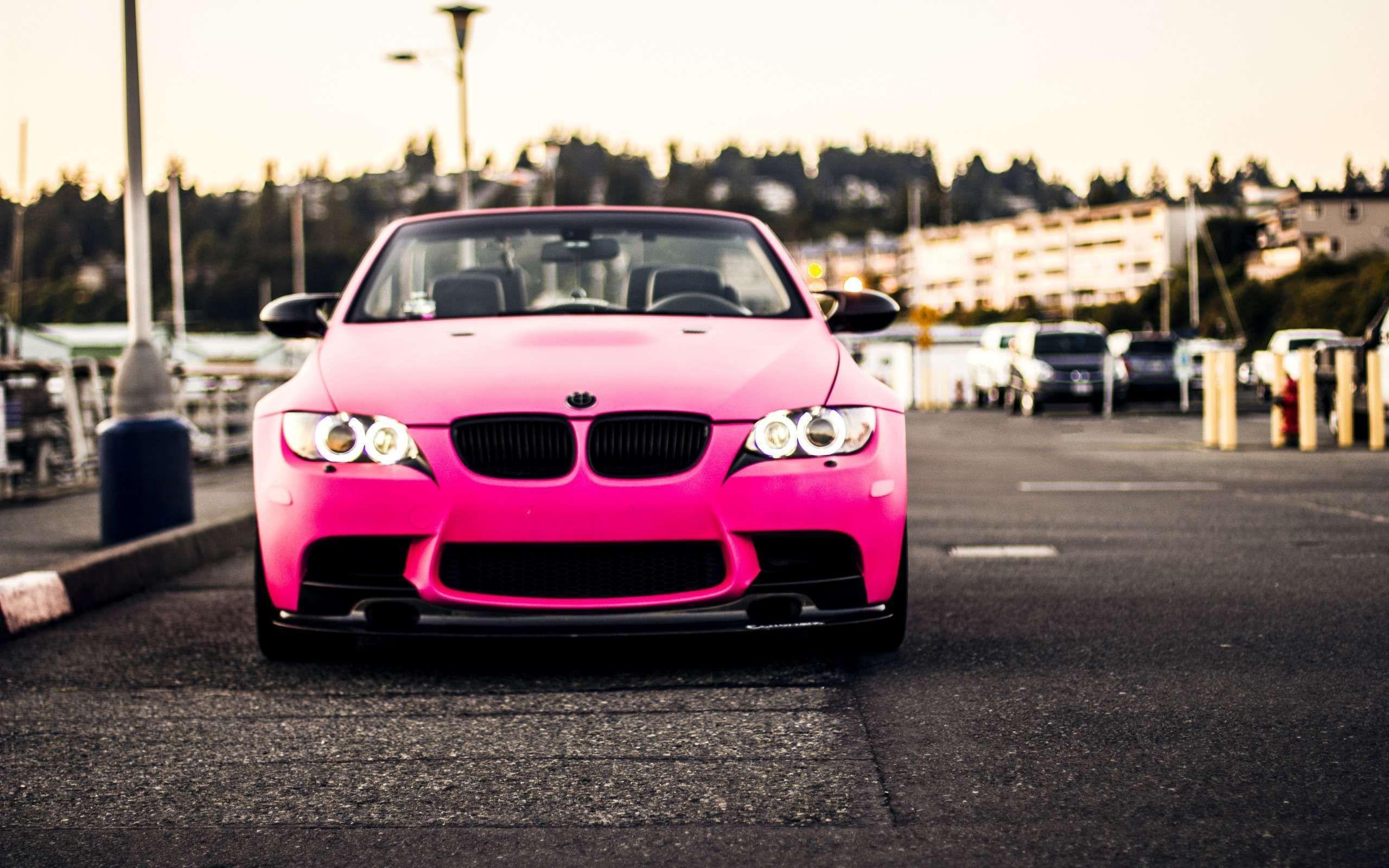 Pink bmw wallpaper