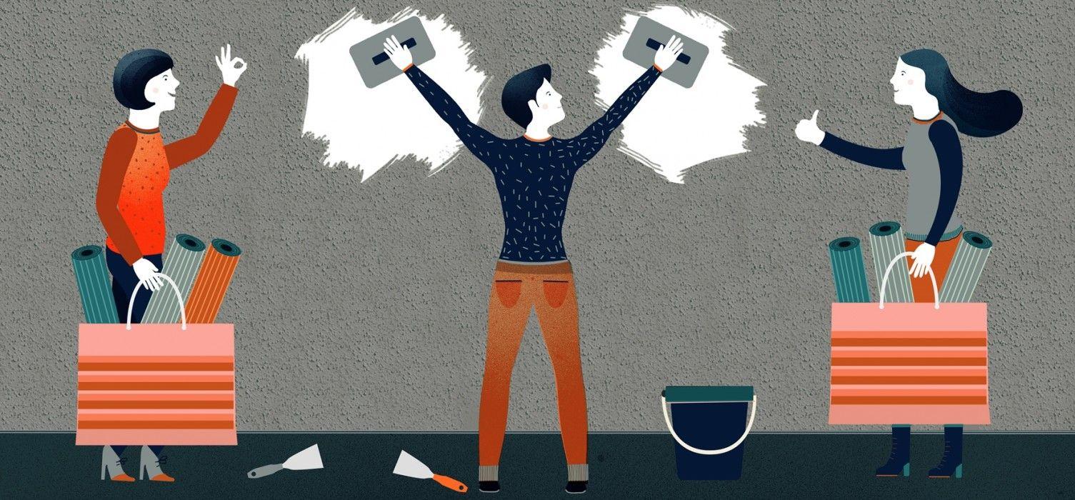 solutions pour un rsultat sans accroc lorsque lon pose du papier peint sur