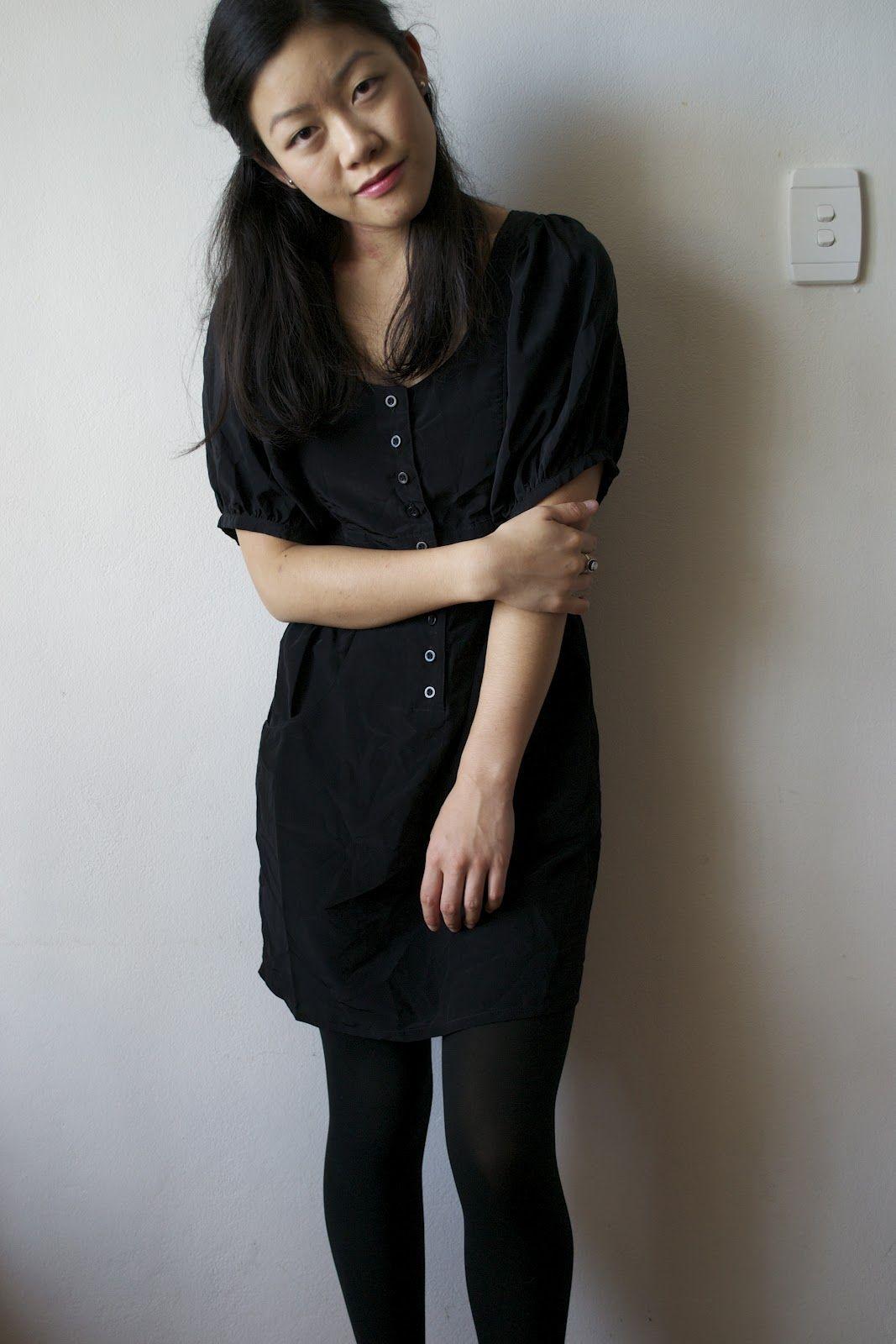 La petite mademoiselle splash of red tokito black dress dorothy