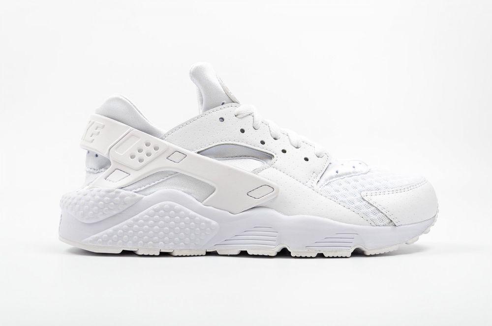 sale retailer 61cae 394bc Nike Air Huarache Triple All White Pure Platinum 318429-111 8.5-12  Nike   AthleticSneakers