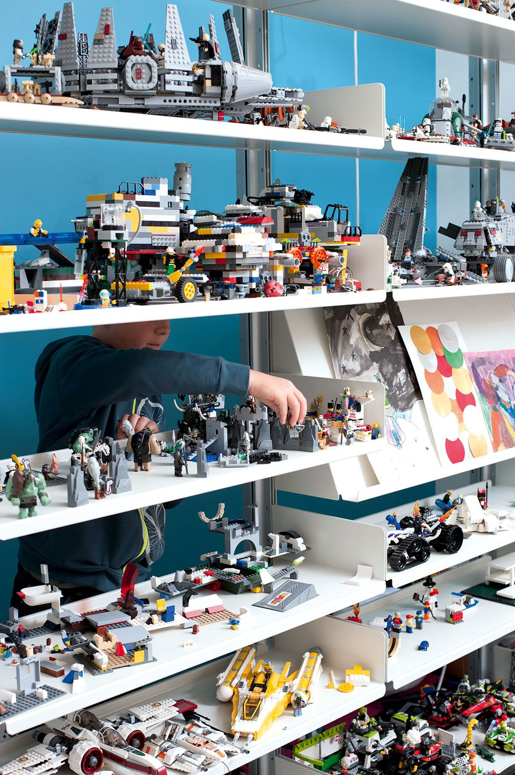 Room 2 Build Bedroom Kids Lego: Lego Room, Lego Display