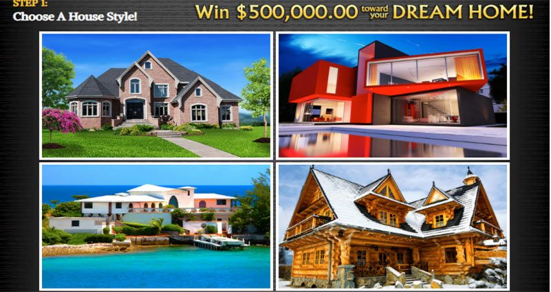 PCH Dream Home $500,000 00 to Win | claimed numbers on