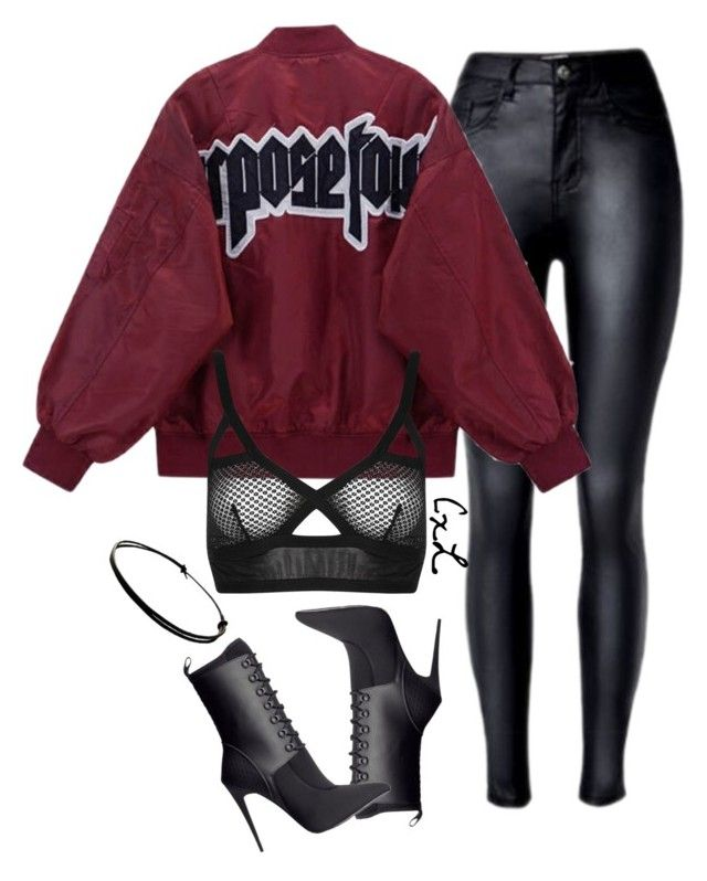 """Untitled #114"" by clynnstyle on Polyvore featuring Alexander Wang and Topshop"