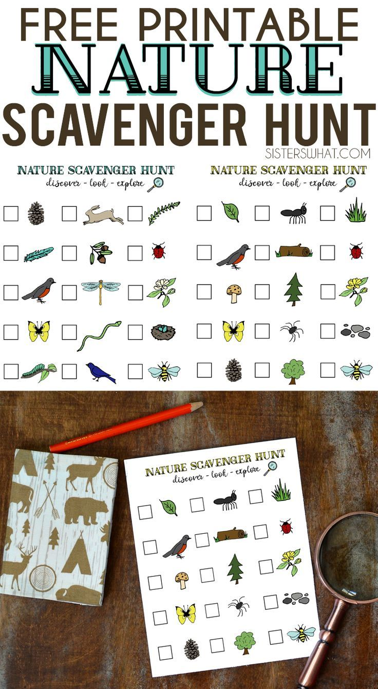 nature scavenger hunt and summer adventures kids nature scavenger hunts scavenger hunt for. Black Bedroom Furniture Sets. Home Design Ideas