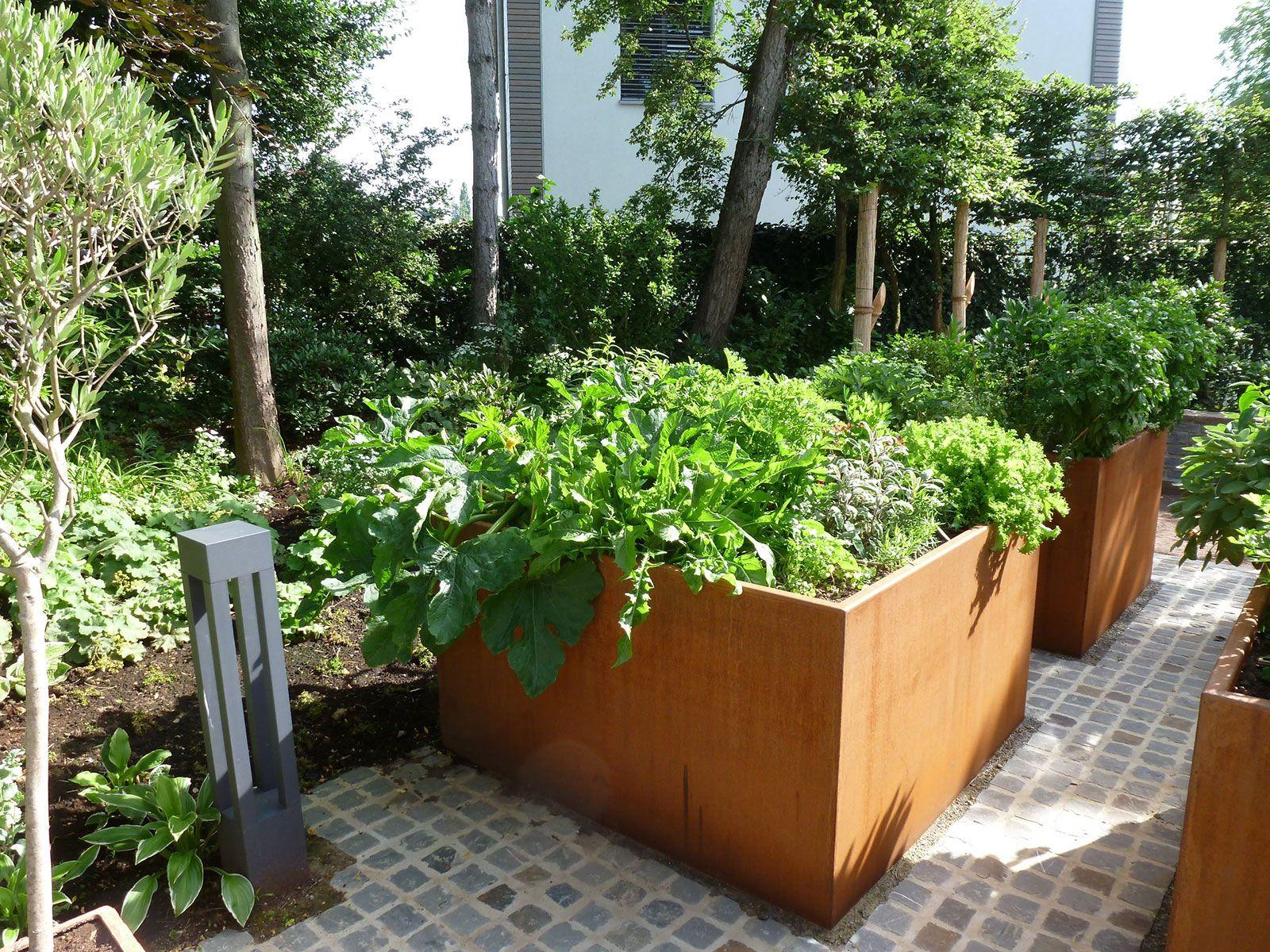 Bac potager surélevé Jardin et forªt Luxembourg