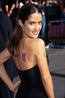 Salma Hayek Tattoos - Ideas And Pictures | Art | Salma hayek
