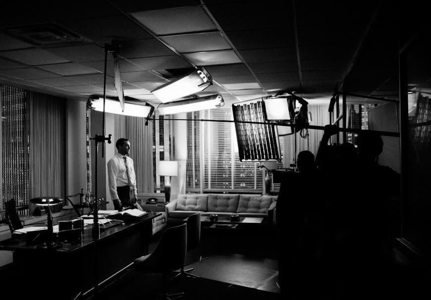 BEHIND THE SCENES ON MADMEN