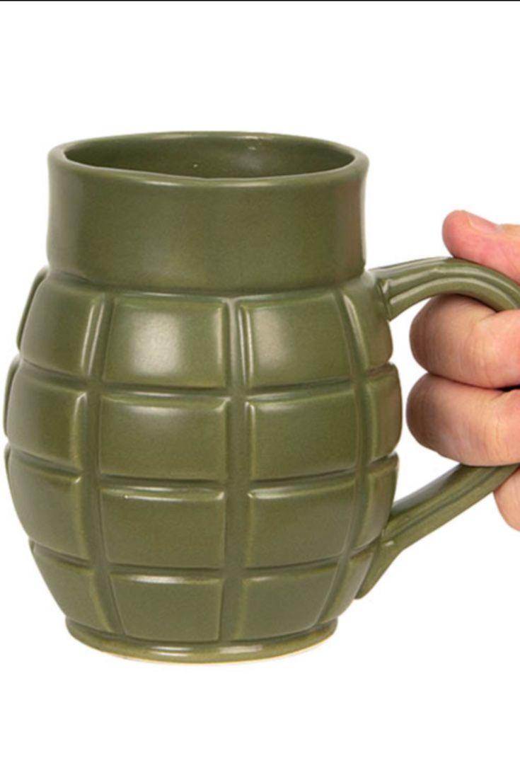 Grenade mug mugs grenade solid copper cups