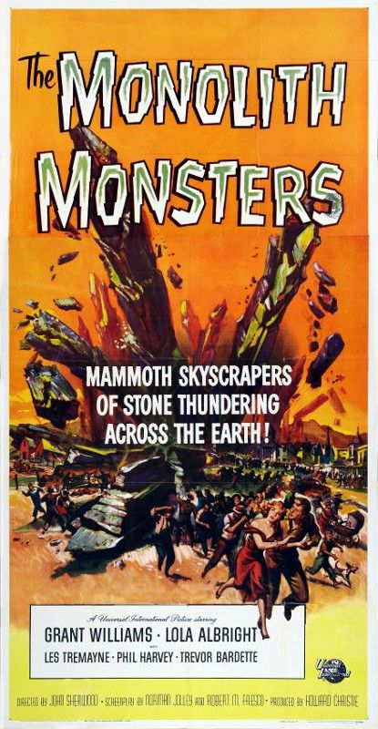 The Monolith Monsters (1957) | Sf movies, Classic horror ...