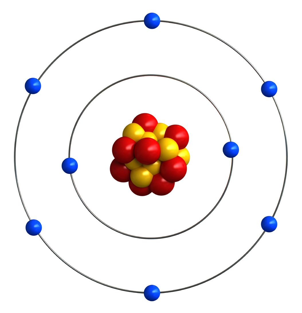 Atomic Structure Of Oxygen