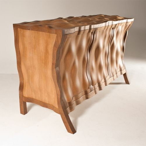 quirky wood sideboard