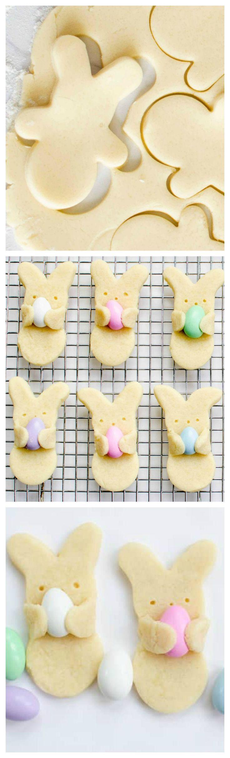 Adorable Easter Bunny Hug Cookies - Fun Loving Families