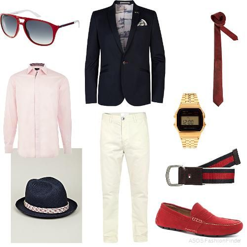 4a7027df28 Boys club,Red & Blue Yacht Party | Mens Outfit | ASOS Fashion Finder ...