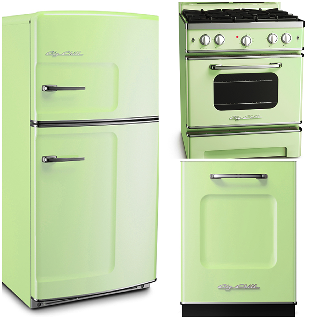 Retro Kitchen Appliances Appliances In 6 Classic Spring Shades Appliances Blog And Big Chill