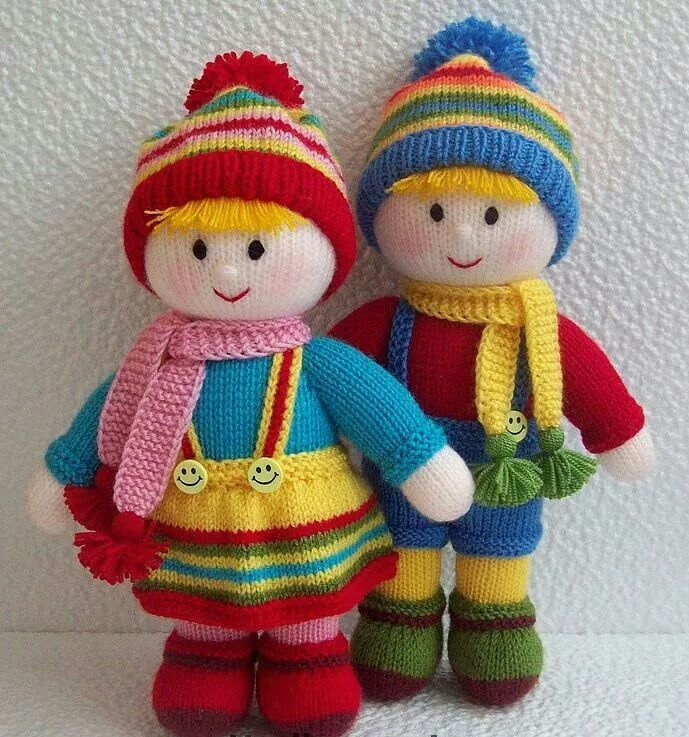 Pin by Shira Harpaz on amigirumi | Knitted doll patterns ...