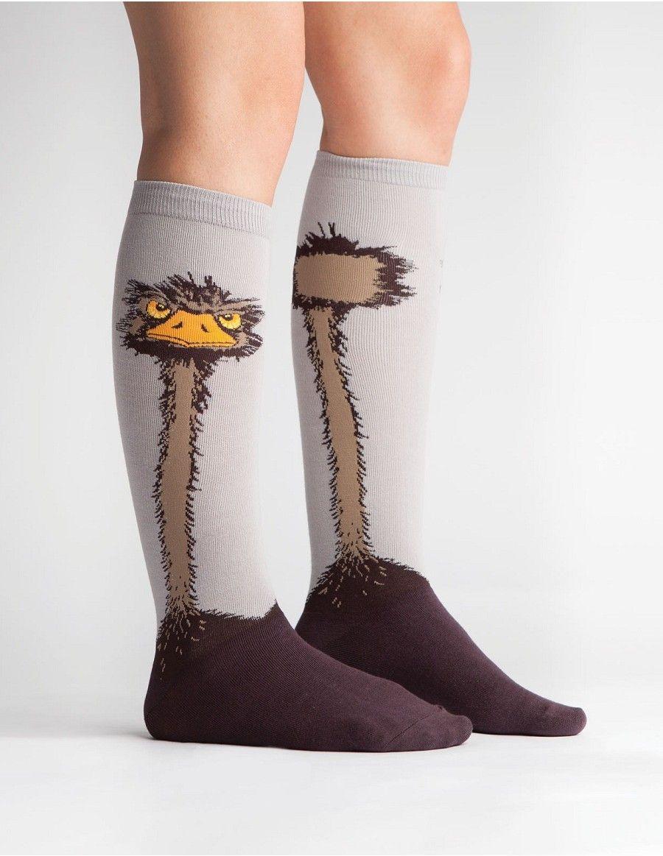 Ostrich Women's Knee Socks by Sock It To Me @ Alwaysfits.com