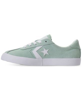 8b8903c257a36a Converse Girls  Breakpoint Suede Casual Sneakers from Finish Line - Blue 5.5