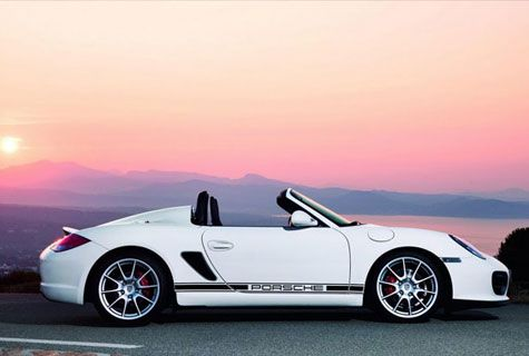 The Boxter Spyder Porsche, yes it's only a boxter but it's still so gorgeous!