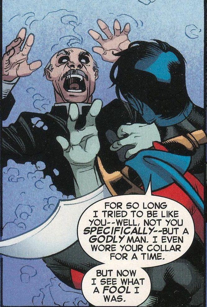 Crisis of faith from Amazing X-Men #14 (Dec 2014)