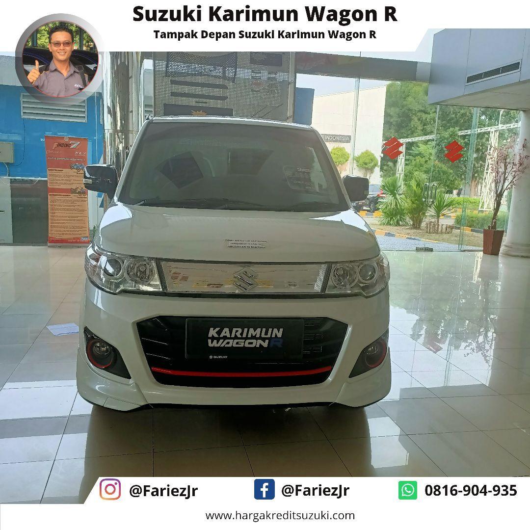 Suzuki Karimun Wagon R Tampak Depan Promo Suzuki Karimun Wagon R Kredit