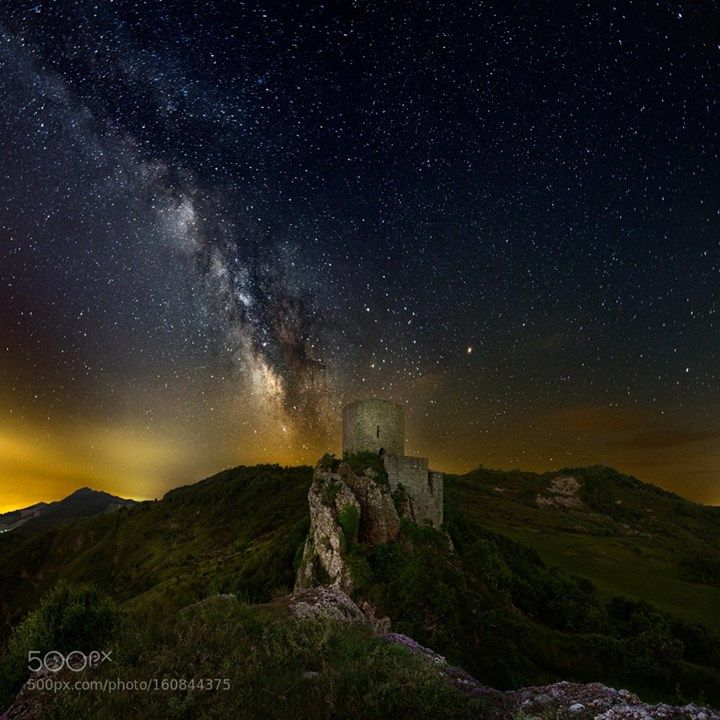 Mordor in the night  http://ift.tt/1EaJ3oF  Image credit: http://ift.tt/29ampbA Visit http://ift.tt/1qPHad3 and read how to see the #MilkyWay  #Galaxy #Stars #Nightscape #Astrophotography