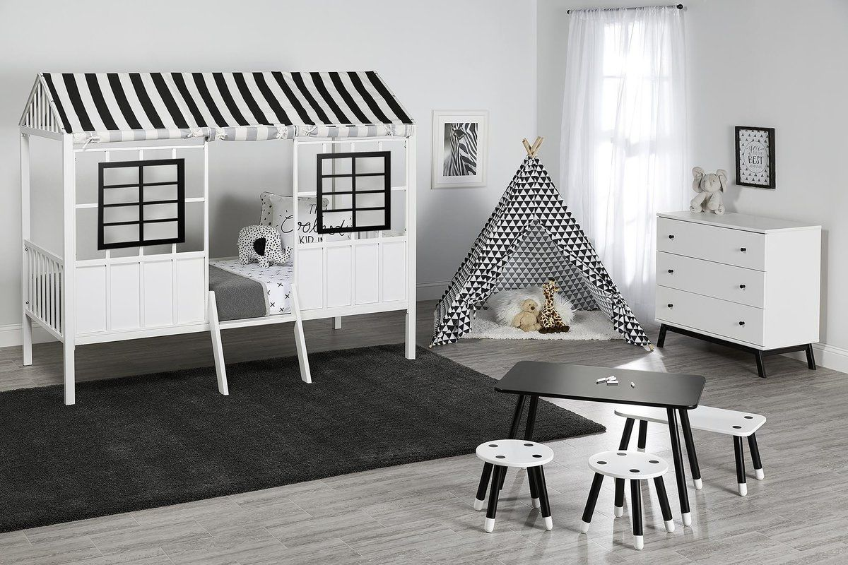 Rowan Valley Forest Twin Loft Bed (With images) Boys
