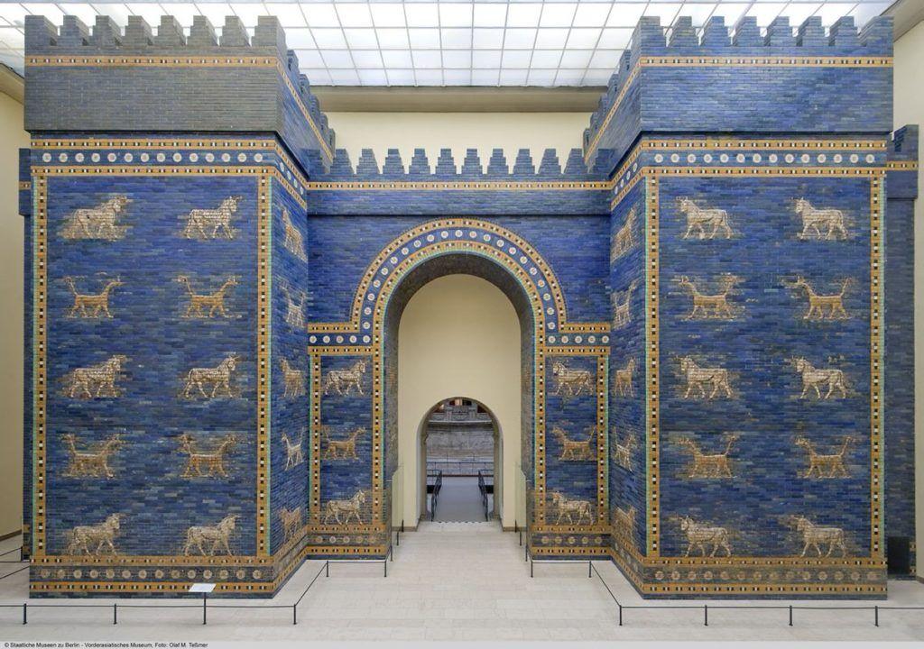 Blues Of Babylon The Ishtar Gate Gate Of Babylon Babylon Ancient Mesopotamia