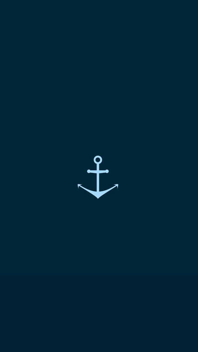 Sea Anchor IPhone 5s Wallpaper